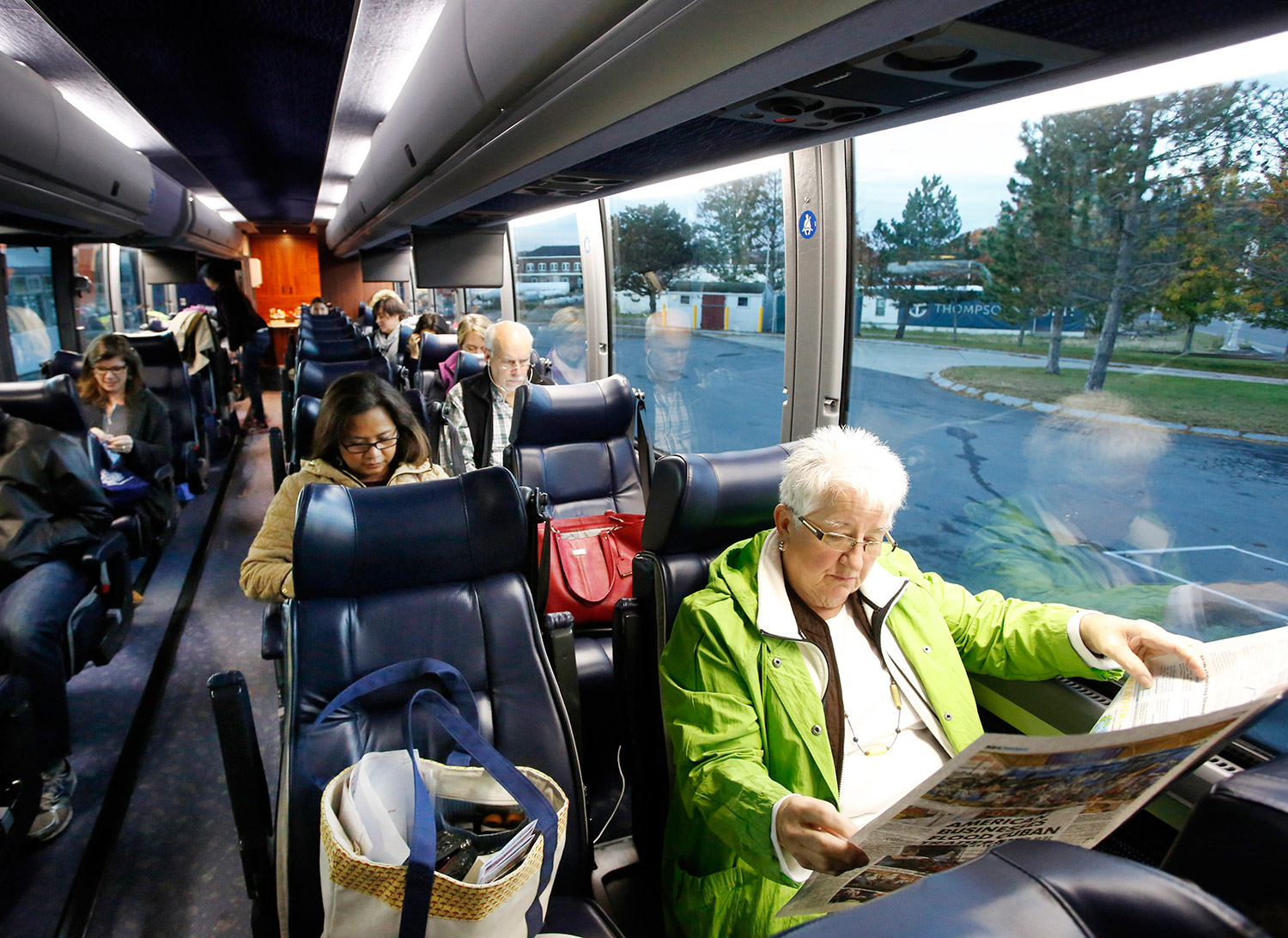 new bus route means smoother sailing from portland to new york city