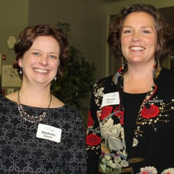 Stephanie Eglinton, a senior program officer for Southern Maine, and Hannah Whalen, a senior foundation officer based in Ellsworth attended the annual Maine Community Foundation event.