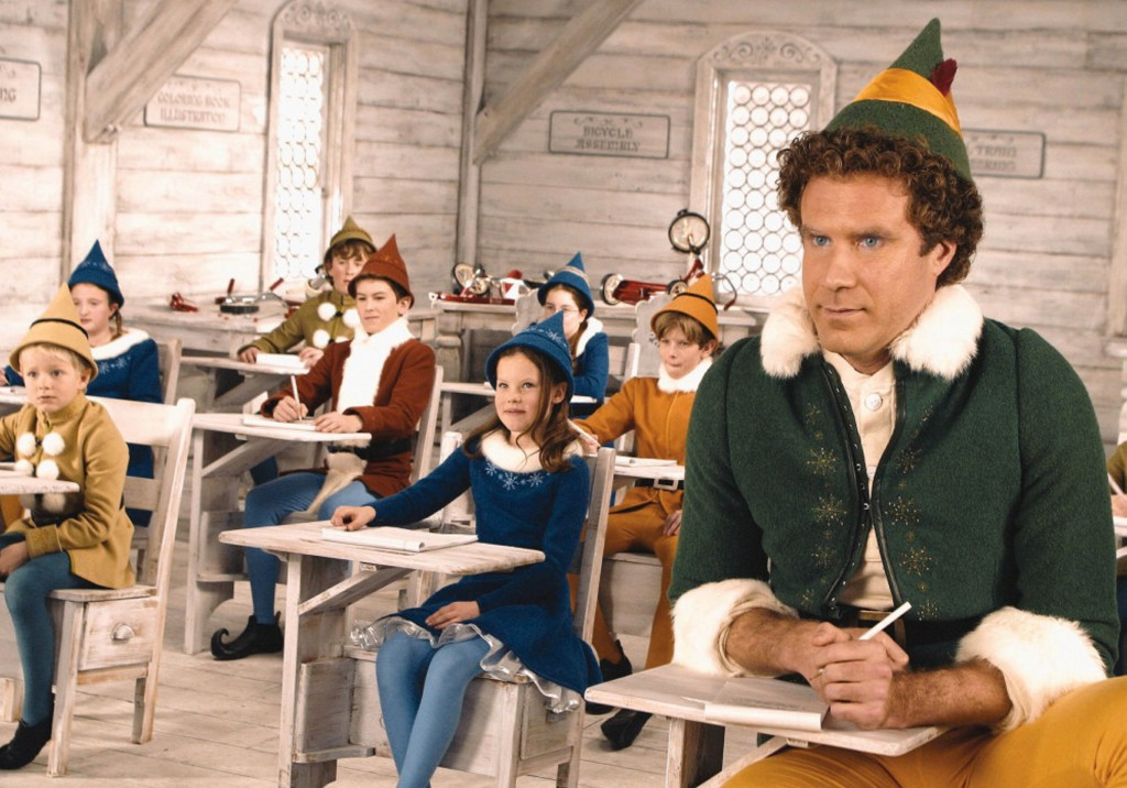 """Elf,"" starring Will Ferrell, airs Friday on ABC Family. RKO Radio Pictures"