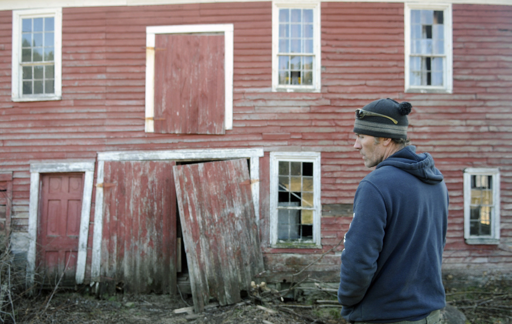 Salvager discovers old Maine barn had a secret - Portland ...