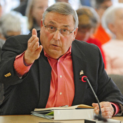 Gov. Paul LePage told lawmakers Thursday that they should hold a special session to fund the additional positions he wants to fight the drug war.