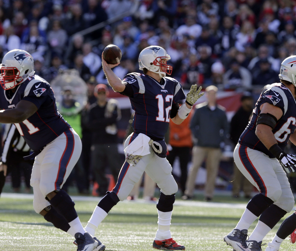 Quarterback Tom Brady is having a remarkable season, and the Patriots look like a lock to win the AFC East. The New York Jets, Buffalo Bills and Miami Dolphins have a statistical chance, but there's no question the Patriots have long owned this division.