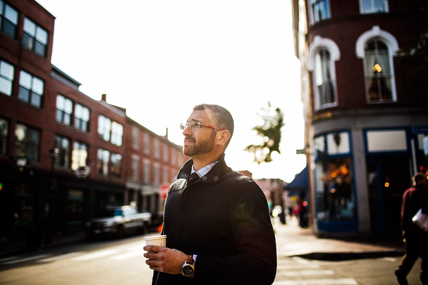 Jeff Packard is one of many employers who have been helped by Portland's appeal as a livable city.