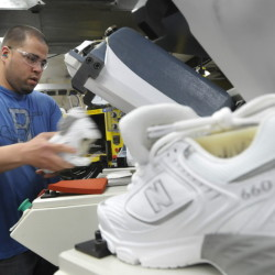 Jobs at New Balance in Norridgewock are among those in Maine threatened by passage of the Trans-Pacific Partnership pact. Negotiators admit at least 330,000 jobs are at risk, a reader says.
