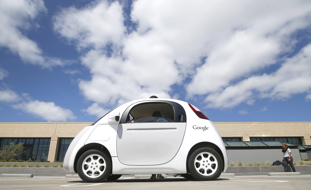 Google has been testing its self-driving prototype car – top speed of 25 mph – on public roads for months. But it has been exasperated by bureaucracy at the Department of Motor Vehicles in getting the car into the public's hands.
