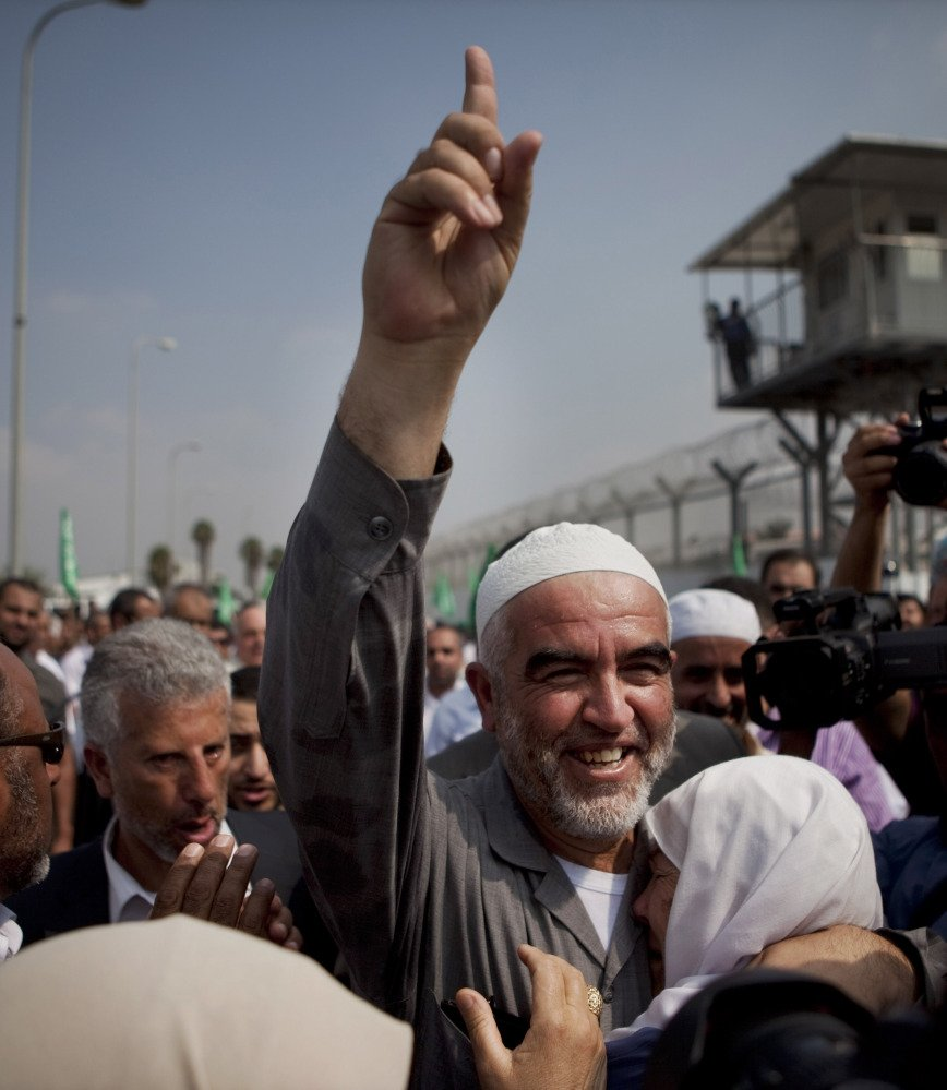 Sheik Raed Salah, the leader of the northern branch of the Islamic Movement in Israel.
