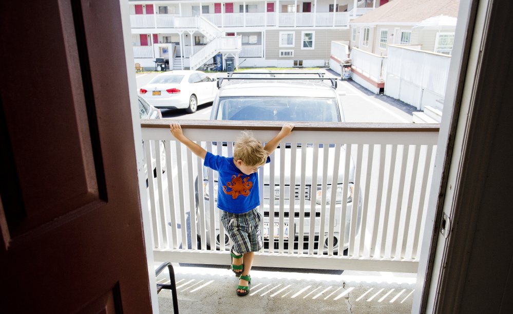 A shortage of rental housing forces many families to seek temporary quarters in motels, but that's not an ideal place to raise youngsters. But neither are apartments whose landlords shirk responsibility, a reader reminds.