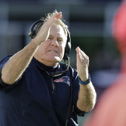A practice under New England Coach Bill Belichick might just involve a time out to simulate an unexpected situation, such as an injury to a teammate.