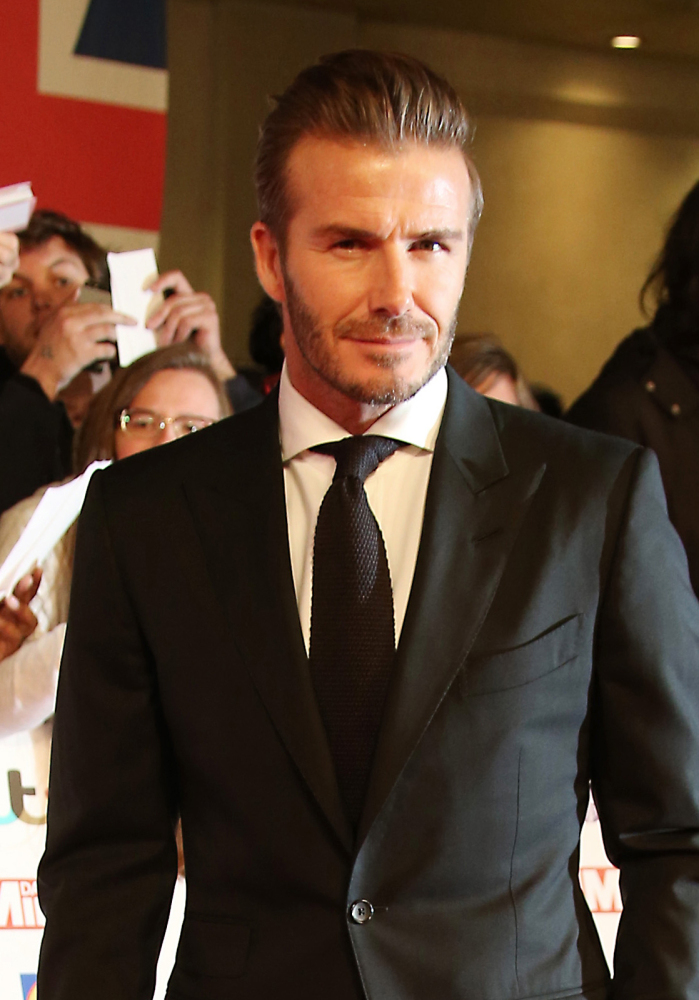 Retired soccer star David Beckham is People's choice for male sexiness.