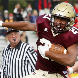The statistics are there – nearly 500 yards rushing in two playoff victories – but what has made Greg Ruff of Thornton Academy special is the way he adapted to offense this year, and to an injury to a fellow running back.