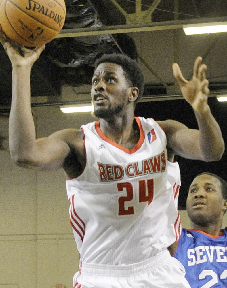 Omari Johnson, a fifth-year pro from Oregon State, will be back with the Red Claws after averaging 15.6 points last season with Maine.