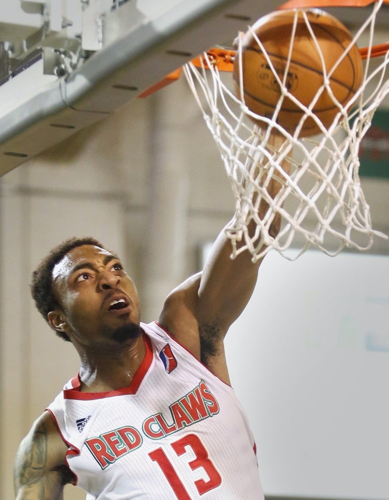 James Young, in his second pro season after reaching the NCAA championship game with Kentucky, played 17 games with the Maine Red Claws last year and will spend time with the team again this winter.