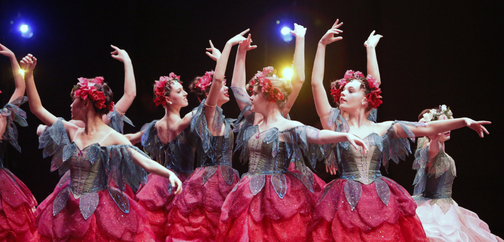 "Maine State Ballet's ""Nutcracker"" opens Saturday at Merrill Auditorium in Portland."