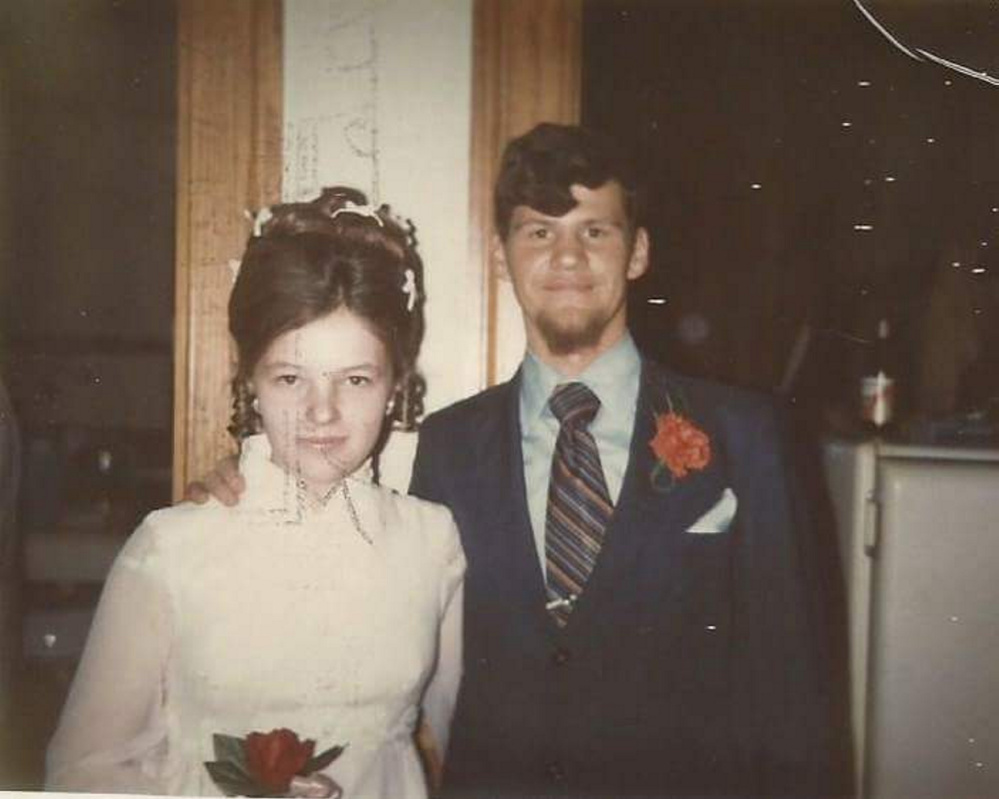 Linda and Ludger Belanger on their wedding day in 1971. Four years later, on Nov. 25, 1975, he went hunting near their Washington, Maine, home and never returned. His disappearance remains listed as an unsolved homicide on the Maine State Police website. Forty years later, his family still mourns him and seeks closure.