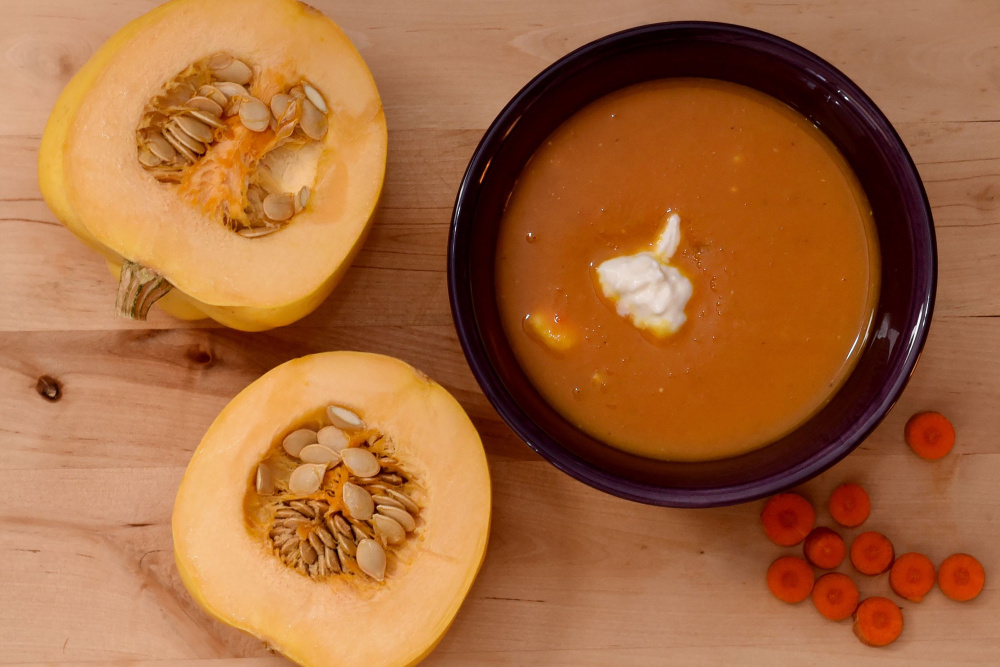 Butternut Squash Bisque.