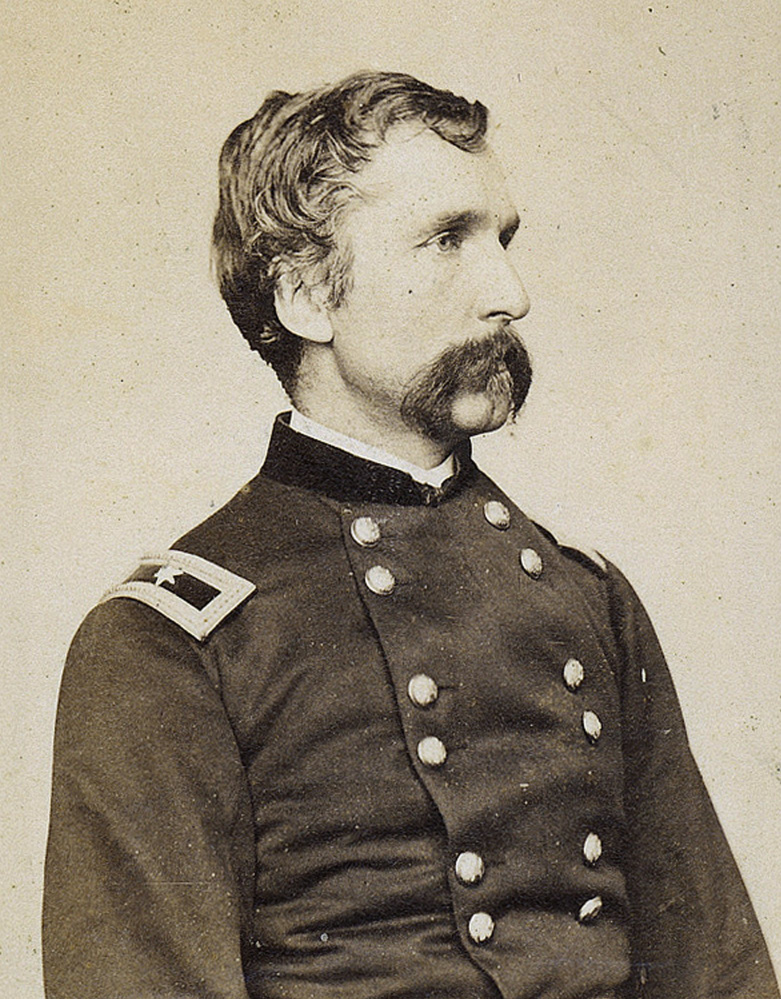 Photo of Gen. Joshua Chamberlain taken in 1864.  Courtesy of the Maine State Archives.