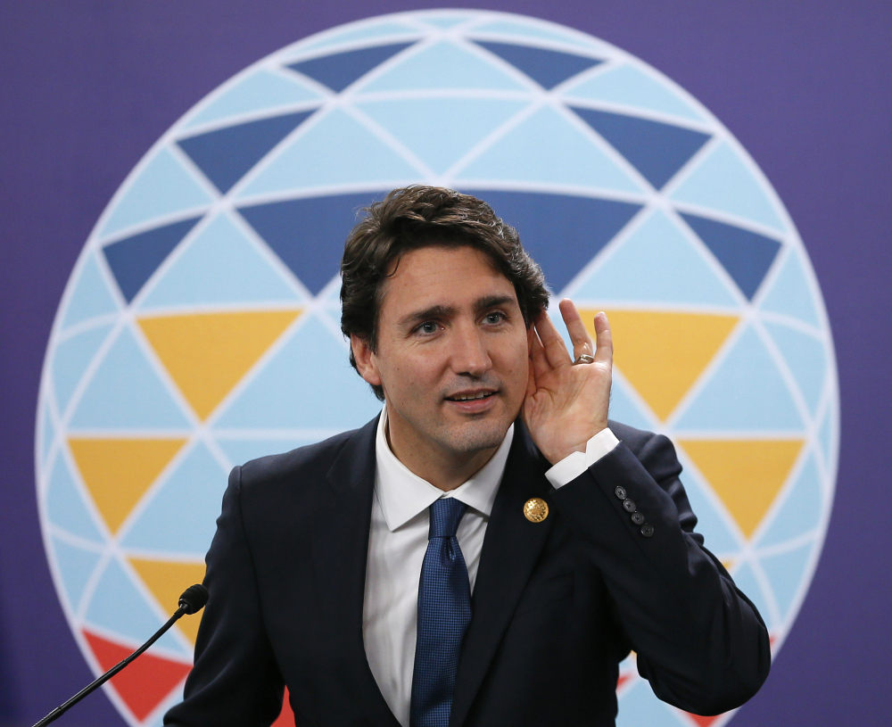 Canadian Prime Minister Justin Trudeau initially hoped to resettle 25,000 Syrian refugees by year's end, but the terror attacks in Paris have forced changes in the timeline.