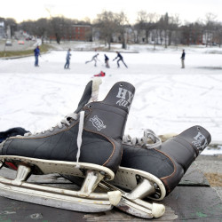You'll need to wear these elsewhere this winter, as Portland plans to shut down its Deering Oaks ice skating operation to undertake a $1.1 million restoration project that will stretch into the spring.