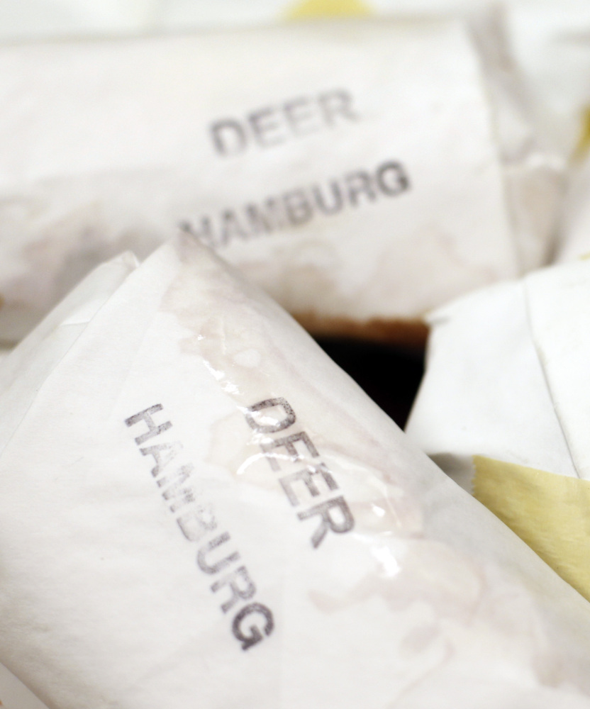 Deer hamburg makes a tasty and sometimes healthier alternative to beef in the meals served by the anti-hunger group Wayside Food Programs of Portland.