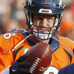 Peyton Manning, who will miss the New England game with an injured foot, has had a remarkable career, says Pats quarterback Tom Brady.