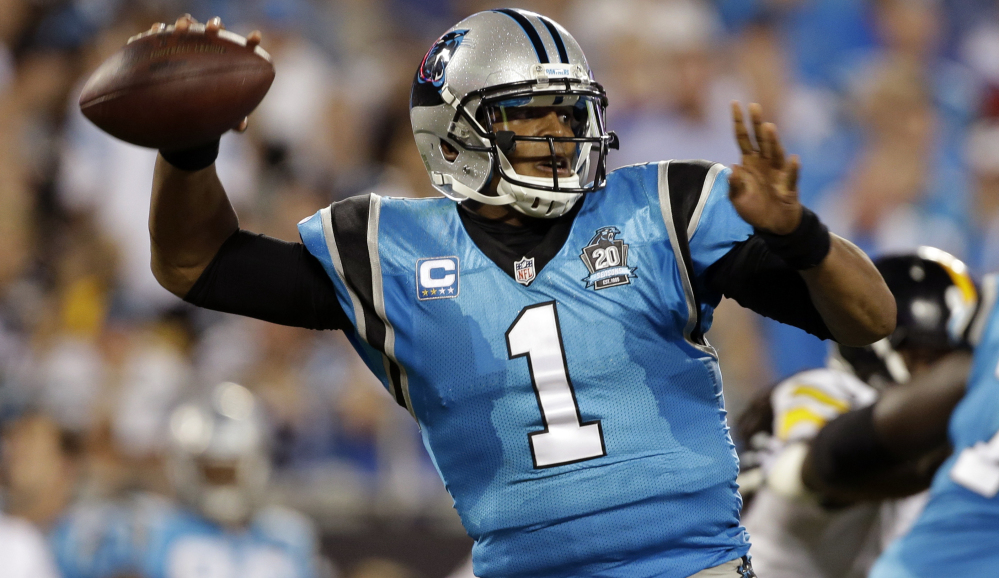 Quarterback Cam Newton leads 10-0 Carolina into Dallas on Thursday to face a Cowboys team that his coach, Ron Rivera, sees as similar to the 3-8-1 Panthers who rallied to reach the playoffs last season.
