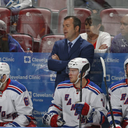 New York Rangers Coach Alain Vigneault was not happy with comments made by Bruins Coach Claude Julien after Friday's game in Boston.