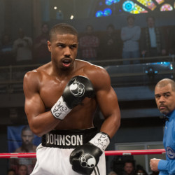 "Michael B. Jordan portrays the title character in the new film ""Creed."""