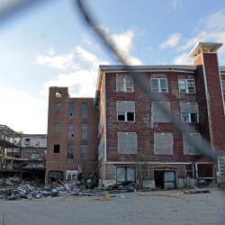 Demolition of the Forster Mill in Wilton was halted in 2011 when asbestos was found. The town seeks brownfields grant money to fund site cleanup and demolition of the mill.