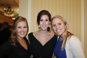 Winxnet colleagues and Portland residents Rebekah Michaud, Samantha Linnell and Suzanne Murphy attended the Spurwink Humanitarian gala, an event that honored the Volk family of Scarborough for its support for Mainers on the autism spectrum.