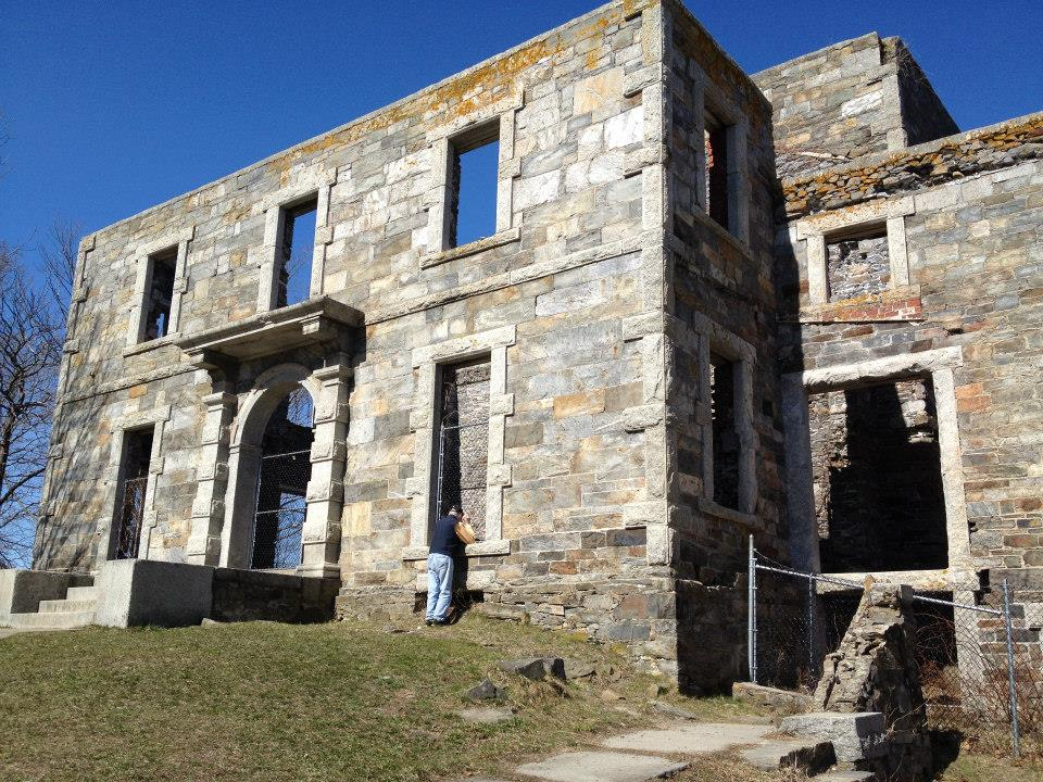 The Goddard Mansion is a popular but lesser known feature of Fort Williams Park in Cape Elizabeth. The town will continue to spend about $5,000 a year to keep the remains of the 1850s mansion safe but accessible for public viewing.