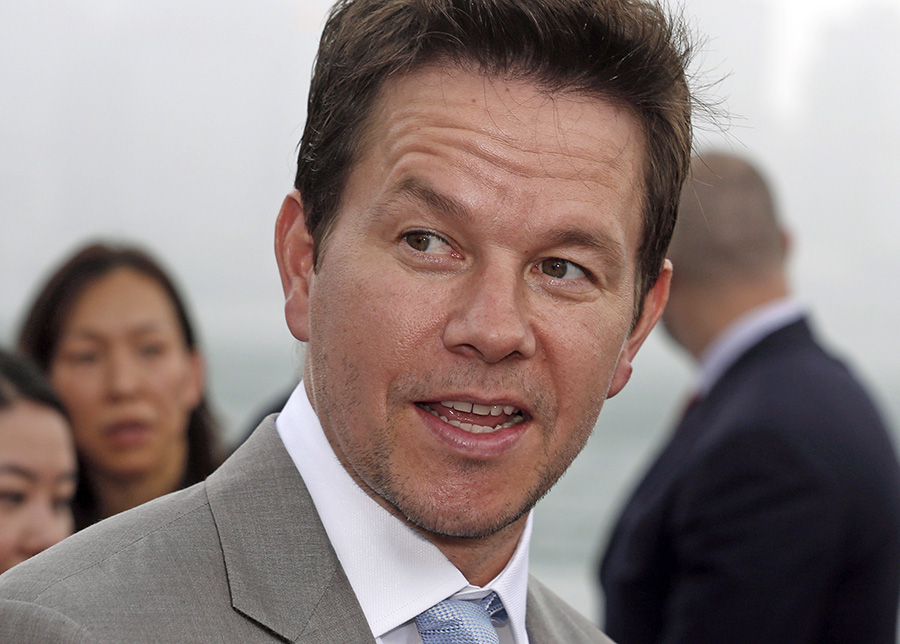 Actor Mark Wahlberg a Boston native, is expected to star in a movie based on the book