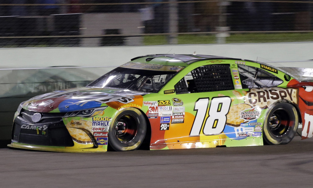 The Sprint Cup championship that had eluded Kyle Busch for so long finally became a reality Sunday when he won the season finale at Homestead-Miami Speedway. The Associated Press