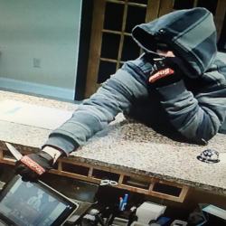 Sanford police released this photo of the man who tried to rob the Super 8 Motel on Main Street on Tuesday night.