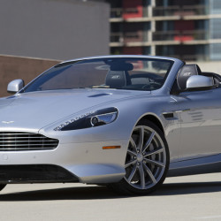 The 2016 Aston Martin DB9 GT Volante has a top speed of 183 miles per hour and goes from zero to 60 in 4.4 seconds. (Myung J. Chun/Los Angeles Times/TNS)