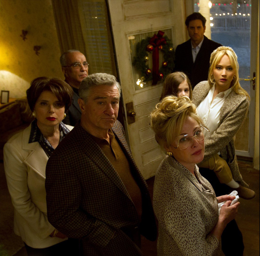 "Isabella Rossellini, far left, in ""Joy."" (Photo courtesy 20th Century Fox/TNS)"