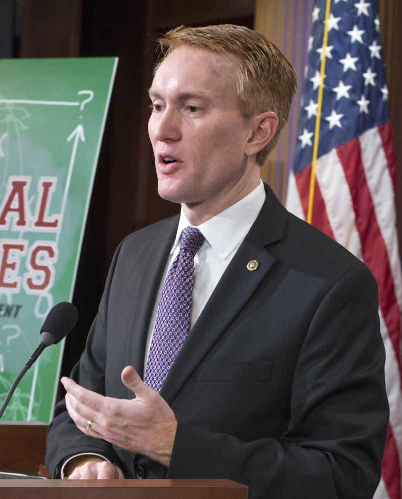 Sen. James Lankford says his report highlights wasteful or duplicative spending.