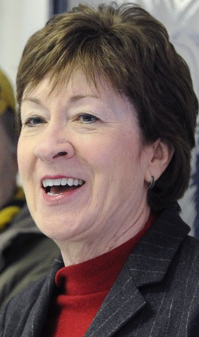 Sen. Susan Collins Secondary lines can go here