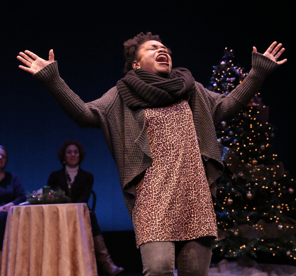 "Kenita Miller performs in Good Theater's ""Broadway"" concert in 2015."