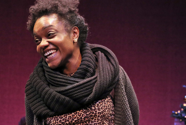 "Kenita Miller performs in ""Broadway at Good Theater,"" which concludes Sunday."