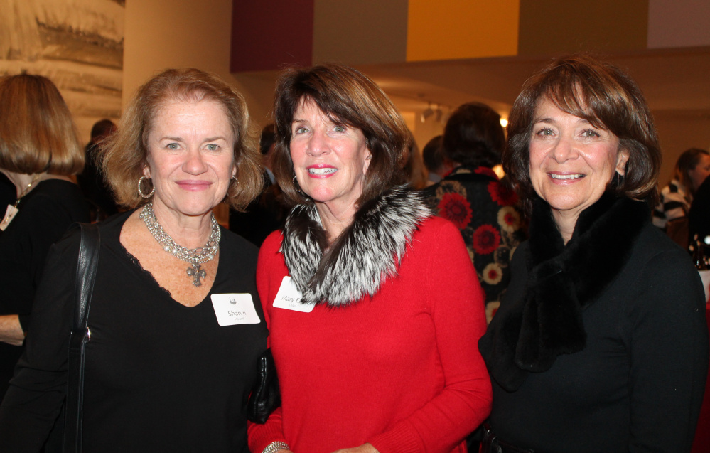 PMA Director's Circle members, from left, Sharyn Howell of South Portland, Mary Ellen Coles of Cape Elizabeth and Connie Batson of Falmouth.