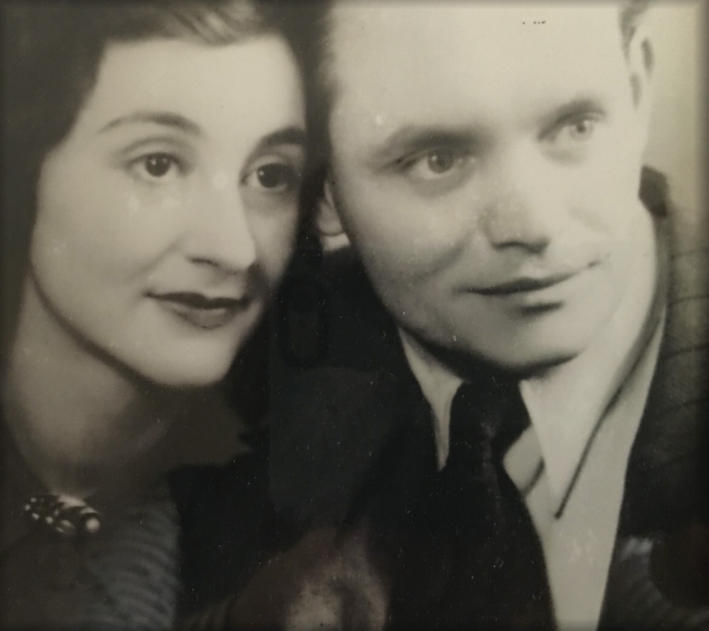 Sonja and Kurt Messerschmidt pose for a photo in the late 1940s. Both survived being held in the Auschwitz concentration camp.