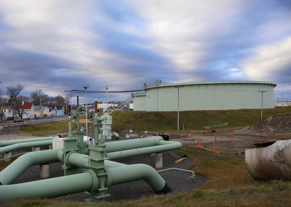 The possibility of Portland Pipe Line's fuel tanks and miles of pipeline someday being obsolete concerns the South Portland City Council as well as many residents.