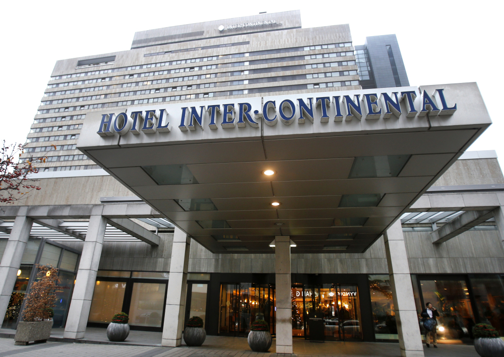 The Hotel InterContinental in Frankfurt, Germany, is where German prosecutors say a 41-year-old South Korean woman died during an attempted exorcism by her relatives.