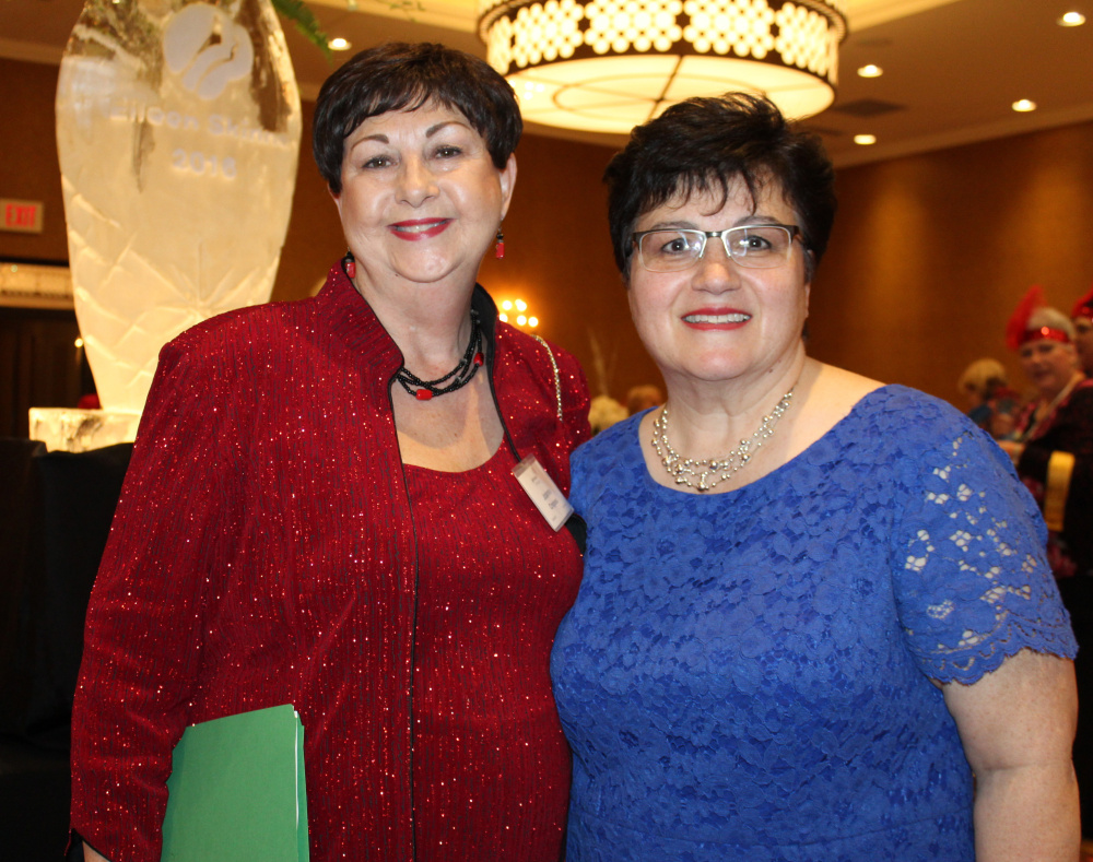 Joanne Crepeau, left, chief executive officer of Girl Scouts of Maine, and Connie Goulatis, chief financial officer.