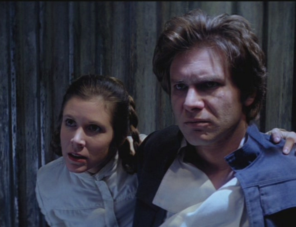 Trouble for Leia and Solo.