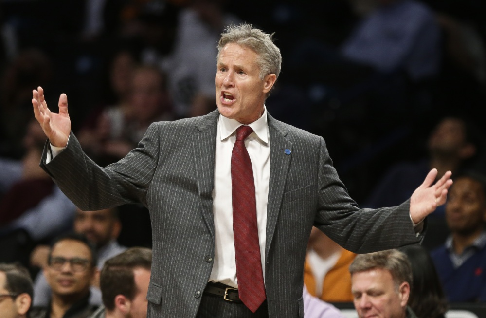 Brett Brown, a 1979 graduate of South Portland High School, agreed to a two-year contract extension with the Philadelphia 76ers on Friday. The Associated Press