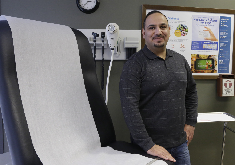 Dr. Ammar Hashim, a navtive of Iraq who graduated from medical school in Baghdad, is the chief operations officer for several medical clinics in Texas. He has been unable to get licensed as a doctor in the U.S. More than 6,200 places in the nation lack enough primary care physicians.