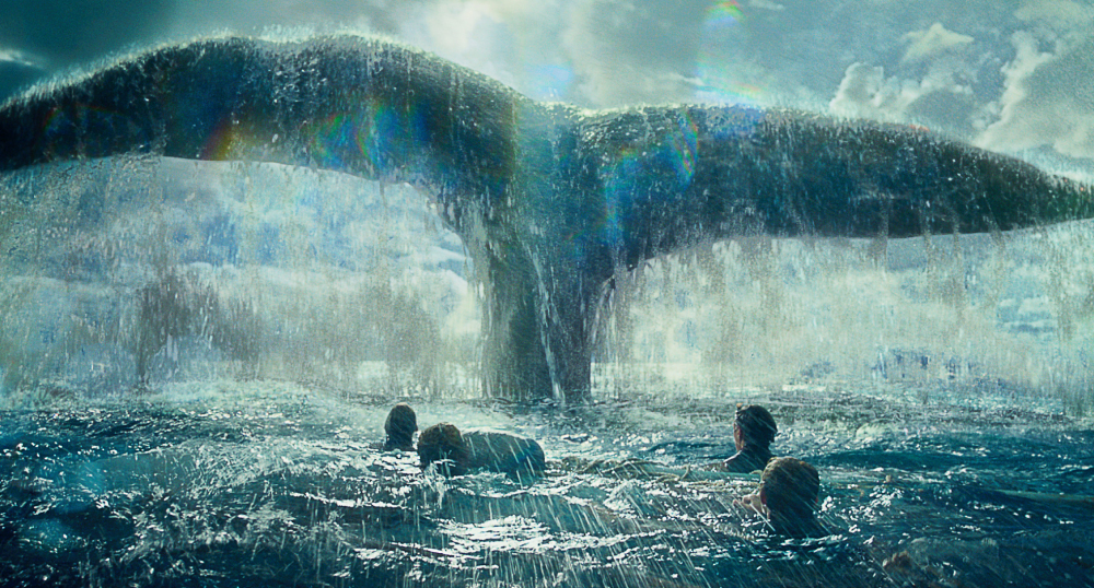 "The whale in Ron Howard's tale lacks the force to compete against the latest ""Star Wars"" movie."