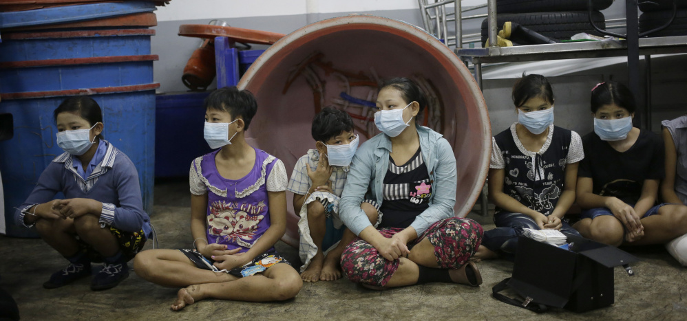 Human rights are routinely abused in Samut Sakhon, a coastal Thai province where thousands of migrant children toil in the seafood processing industry.