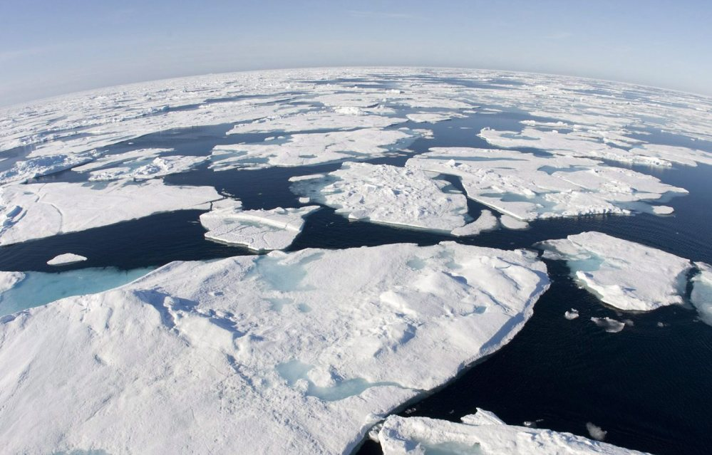In nearly all Arctic regions, sea ice is decreasing.